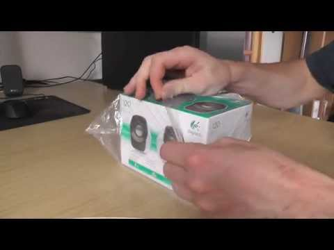 Logitech Z120 USB Stereo Speakers – Unboxing + Review [HD 1080p]