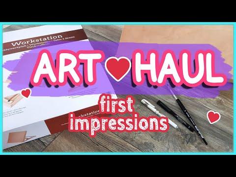 Kunst Haul - Erster Eindruck: Tischstaffelei mit Zeichenbrett (Workstation) - kreativ.de