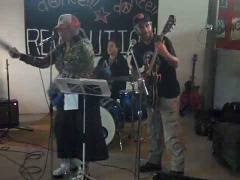 "Sounds For Fathers cover ""Rebel Girl"" (Bikini Kill) @ 27 Social Centre 2-11-12"