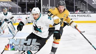San Jose Sharks vs. Vegas Golden Knights | EXTENDED HIGHLIGHTS | 4/20/21 | NBC Sports