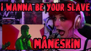 "REACTION   MÅNESKIN ""I WANNA BE YOUR SLAVE"" (MUSIC VIDEO)"