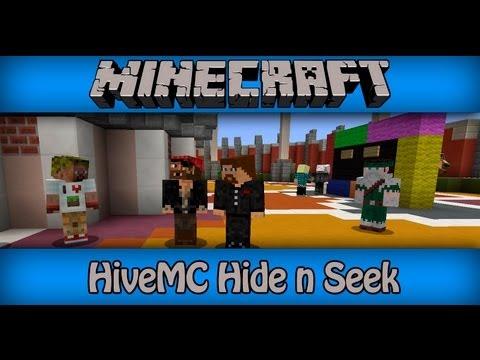 [Hive MC] Hide n Seek (Прятки) #2  EVGEXA  DILLERON Legosky007