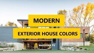 45+ Best Modern Exterior House Colors Ideas 2018
