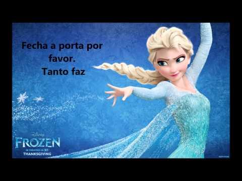 Já passou (Let it Go) | Frozen | Karaoke português PT