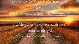 Eric Church- Homeboy w/ lyrics