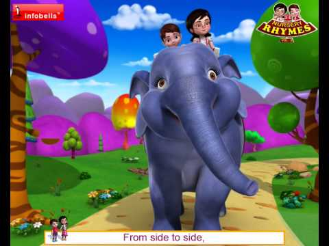 Elly The Elephant Nursery Rhymes for Children