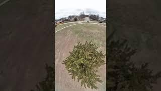 FPV BQE Ripsqueak + insta360 Go Quad Flying Fun in the Park! #Shorts