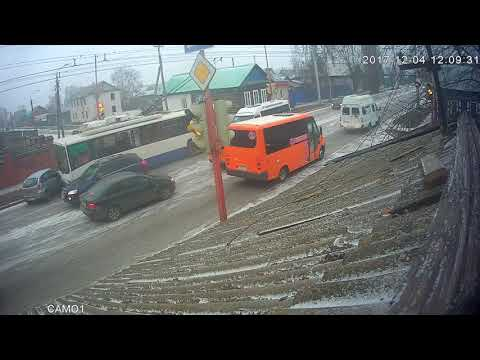 Не заметил троллейбус водитель в Стерлитамаке
