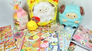 Sticker Haul and POP POP SHEEP! Squishy Package #20 - modes4u