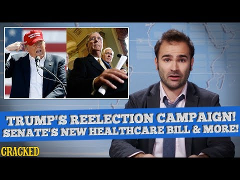 President Trump Kicks Off Reelection Campaign, Senate Kicks Off Millions From Healthcare – SOME NEWS