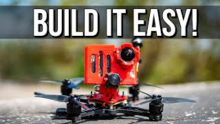 How to BUILD your Dison X micro cinematic freestyle fpv drone! Only 150g!