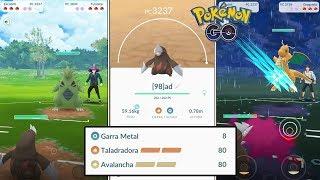 Drilbur  - (Pokémon) - EXCADRILL ES UNA BESTIA en PvP!! PRUEBAS y COMBATES ¿GANA A METAGROSS, DRAGONITE,...? - POKEMON GO