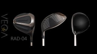 Mark Crossfield reviews the new VEGA Golf RAD-04 Driver
