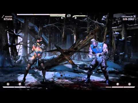 Mortal Combat Gameplay X-BOX ONE