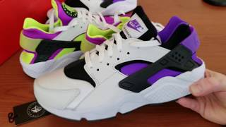 buy popular d98c2 5121d ... Royal Blue + Dynamic Pink). 1 years ago. Nike Air Huarache QS - Neon  Yellow And Purple Punch - Two Of The Best 2018