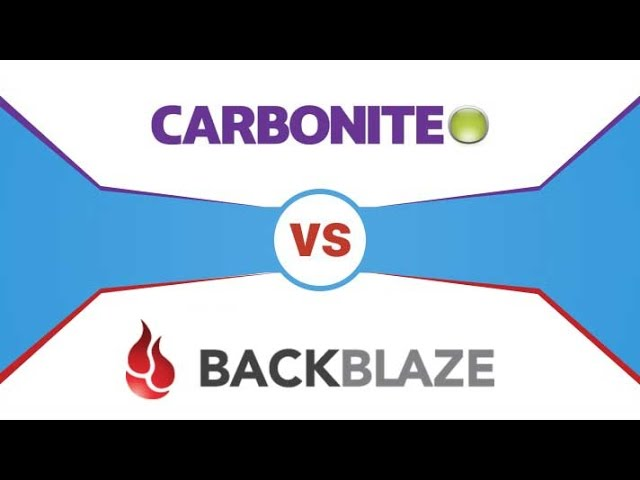 Backblaze vs Carbonite ?? After 4 Years That's What I Recommend