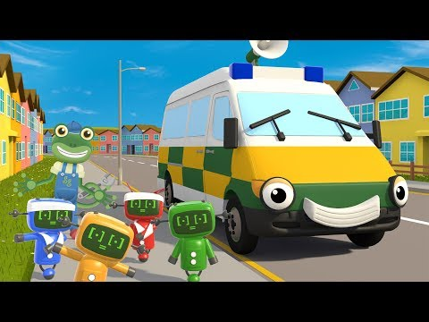 Amber The Ambulance Song | Kids Songs | Gecko's Garage