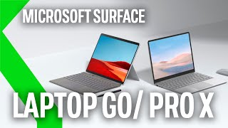 MICROSOFT SURFACE LAPTOP GO Y SURFACE PRO X 2020 con hasta ¡15 HORAS DE AUTONOMÍA!