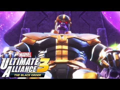 Thanos Boss Fight - MARVEL ULTIMATE ALLIANCE 3 THE BLACK ORDER