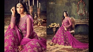 Latest Indian Dresses Collections 2017 || Sonal Chauhan  Anarkali Suits || MAISHA MASKEEN AZARA