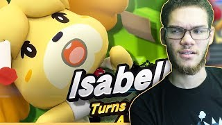 Nairo Reacts To ISABELLE In Super Smash Bros Ultimate!