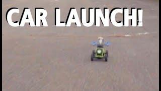 Car Park Car Launch - Freestyle FPV (with crash)