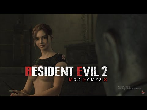 Resident Evil 2 RE MOD - Claire Sexy