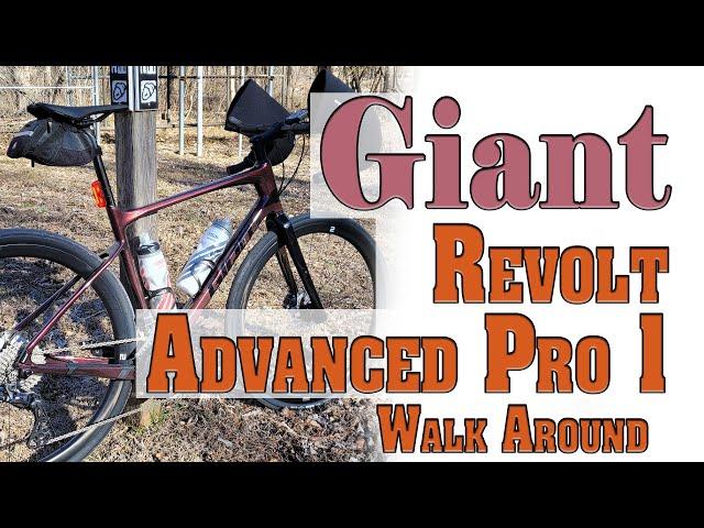 Видео Велосипед Giant Revolt Advanced Pro 1 (Chameleon Mars)