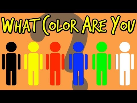 WHAT COLOR ARE YOU? - Personality Test | Mister Test 🎶🎶🎶