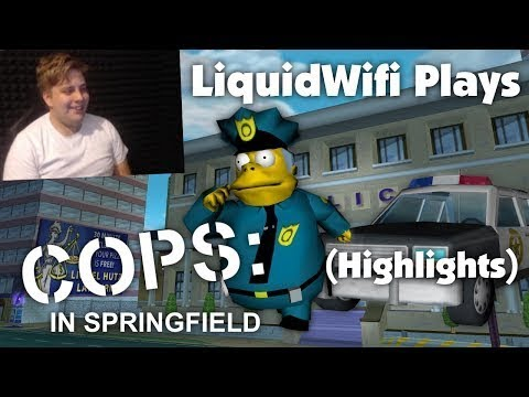 Simpsons Hit And Run - Betwitched Springfield BETA - Sid3300 - Video