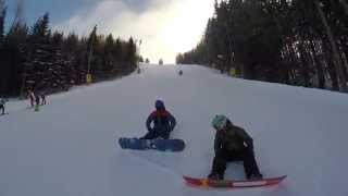 preview picture of video 'Zauberg, Semmering GoPro Ski/Snowboard 2015'