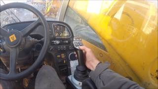 how to drive jcb