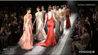 Old Hollywood Glamour On Jenny Packhams Fall 2012 Runway