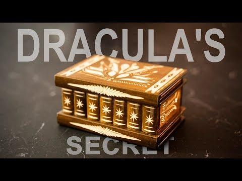 DRACULAS Secret Box - Straight from TRANSYLVANIA!!