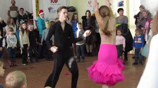 Феерическое шоу танца!!!