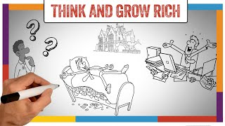 Think And Grow Rich Summary & Review (Napoleon Hill) - ANIMATED
