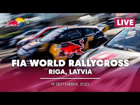 世界ラリークロス 第5戦ラトビア(リガ)2021年 プレショーのライブ配信動画
