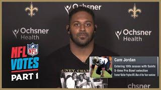 NFL Votes Roundtable w/ Cam Jordan (Part 1) | New Orleans Saints