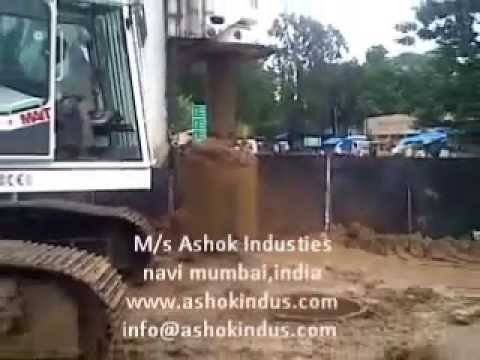 Rock Drilling For Piling