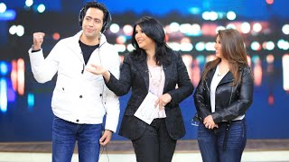 أحدث عروسين في الوسط الفني غادة رجب وعبدالله حسن في معكم منى الشاذلي - الحلقة الكاملة