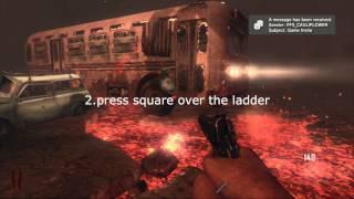 black ops 2 zombies: 'ladder tutorial'