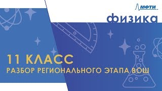 Разбор регионального этапа ВОШ по физике в Московской области. 11 класс