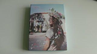 Download Video Unboxing Jessica 제시카 1st Mini Album With Love, J MP3 3GP MP4