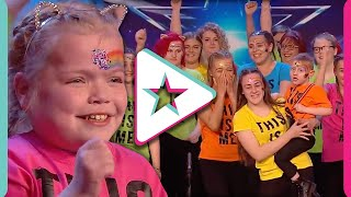 SUPER EMOTIONAL AUDITION From 'Sign Along With Us' Wins Them The Golden Buzzer!