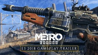 Metro Exodus - E3 2018 Trailer Gameplay [ES]