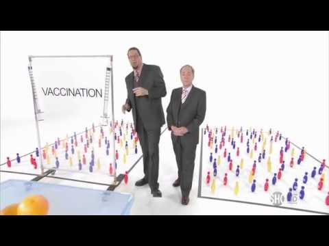 Penn And Teller Explain Why Anti-Vaccination Is Bullshit In 90 Seconds