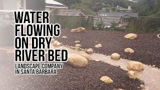 preview picture of video 'Dry River Bed Landscape design when raining'