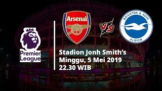 Video Live Streaming Liga Inggris Arsenal Vs Brighton, Via MAXStream beIN Sports