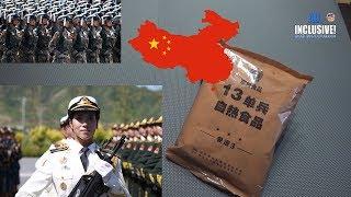 Чем питаются в Китайской Армии. Сухпай Китайской Армии ИРП 13 / 3