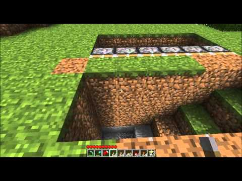Minecraft Tutorial How To Build A Sliding Underground